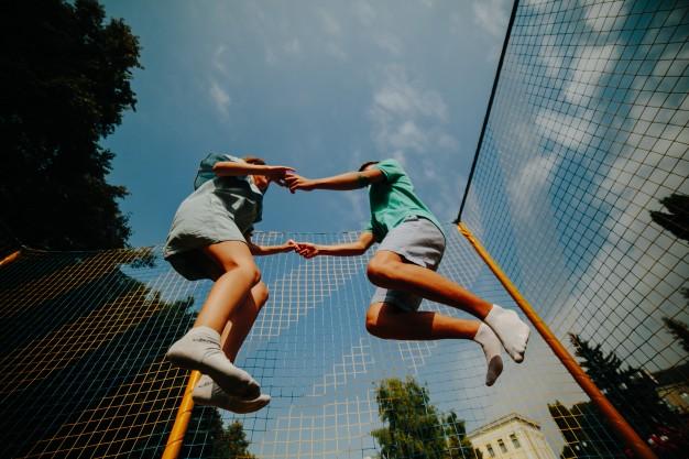 Gode trampoliner – som skabt til børn